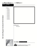 Flyer DataMerge template
