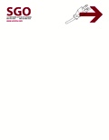 Hi Tech Letterhead template